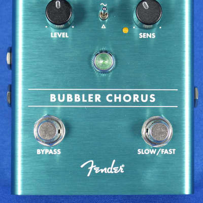 Fender Bubbler Analog Chorus Electric Guitar Effect Effects Pedal for sale