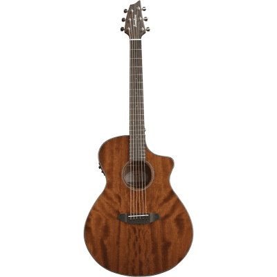 Breedlove Discovery Concert MH CE Cutaway Acoustic/Electric Guitar Gloss Natural 2016