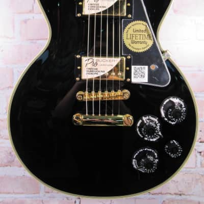 Epiphone Les Paul Custom Pro Ebony Electric Guitar for sale