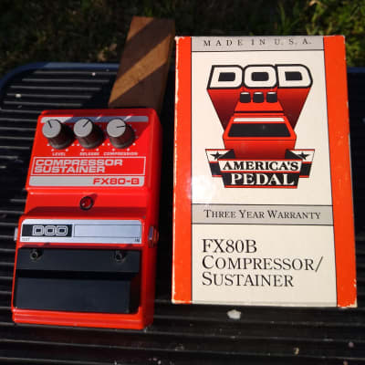 DOD  FX80B Compressor Pedal 80's Free Shipping for sale