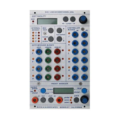 Buchla 225e MIDI Decoder / Preset Manager