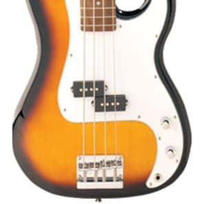 Jay Turser  JTB-400C Series Electric Bass Guitar Tobacco Sunburst for sale