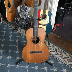 Washburn Lyon & Healy Tonk Brothers Acoustic Guitar 1920's Natural for sale