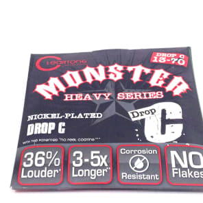 Cleartone 9470 Monster Heavy Series Electric Guitar Strings - Drop Tune (13-70)