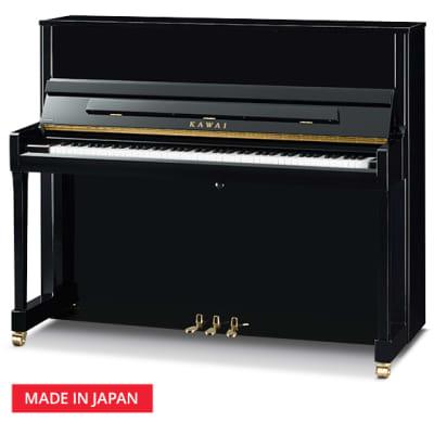 Kawai K300 Upright Piano 122CM Ebony Polish