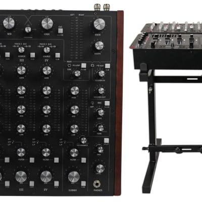 New Rane MP2015 Rotary Club DJ 4 Deck Mixer W/Dual USB+32 Bit DSP + Mixer Stand
