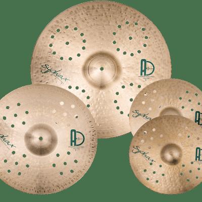 """Agean Cymbals Syphax Set - 20"""" Ride - 16"""" Crash - 14"""" Hi-hat"""