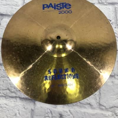 """Paiste 16"""" 2000 Sound Reflections Thin Crash Cymbal"""