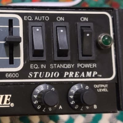Mesa Boogie Studio Preamp Rack Mount Equalizer 1988 Early Unit Recently Serviced New Stuff!
