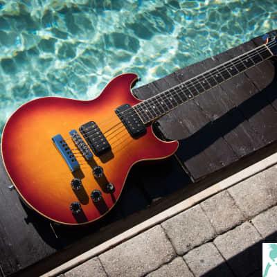 Vintage 1984 Fender Flame Guitar - Master Series ala Robben Ford for sale