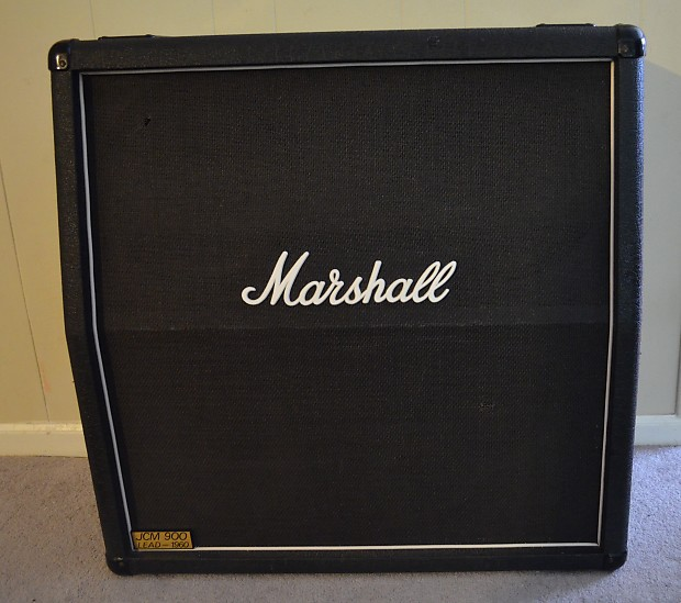 Marshall JCM 900 Lead 1960A 4x12 Speaker Cabinet Mono/Stereo | Reverb