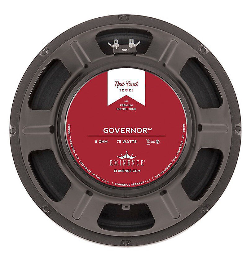 eminence the govenor 75w 12 8 ohm replacement speaker reverb. Black Bedroom Furniture Sets. Home Design Ideas