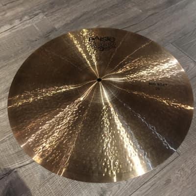 Used Paiste 2002 Black 22 Big Beat Multi Cymbal