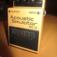 Original Circa 2010 BOSS AC-2 Acoustic Simulator