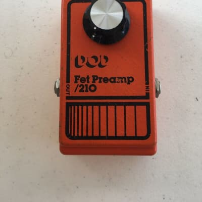 DOD Digitech 210 Fet Preamp Clean Boost Booster Rare Vintage Guitar Effect Pedal