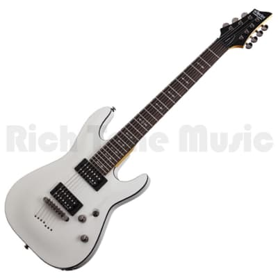 Schecter Omen-7 2012 - Vintage White for sale
