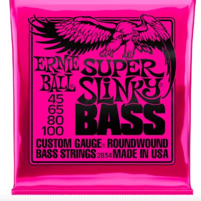 Ernie Ball Super Slinky Bass Nickel Wound Strings 2834
