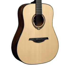 Lag TSE-701D Limited Edition Tramontane Snakewood Dreadnought Natural