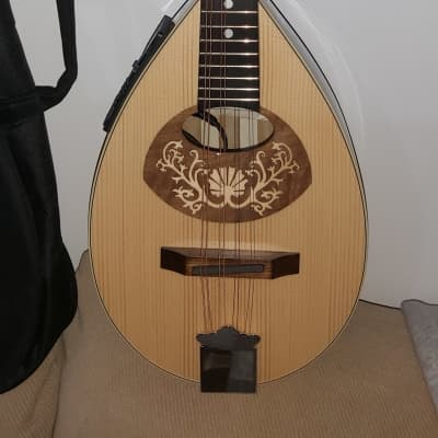 Portuguese Mandolin II- Electric- New + Bag + Extra Chords for sale