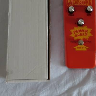 Colorsound Powerboost 18V Power Boost Stu Castledine for sale