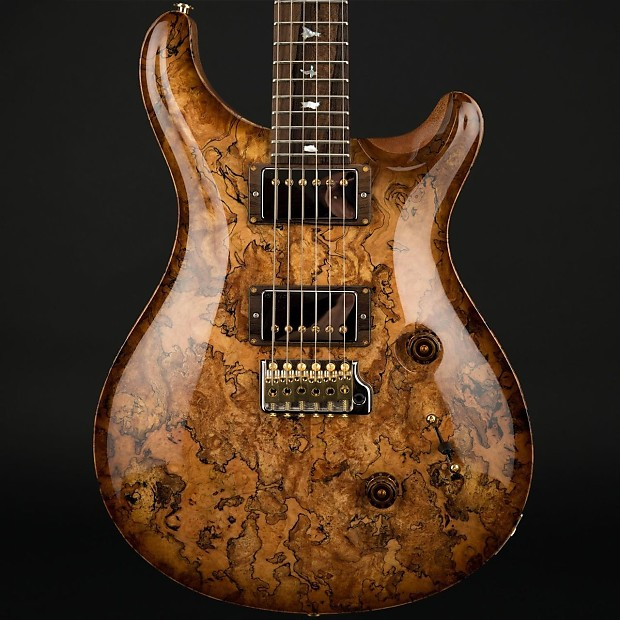 Prs Private Stock Custom 24 Spalted Maple In Natural