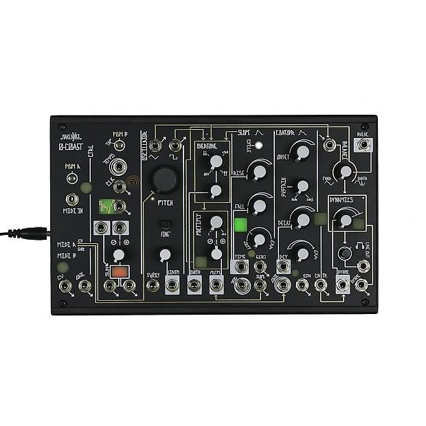make noise 0 coast analog synth new detroit modular reverb. Black Bedroom Furniture Sets. Home Design Ideas