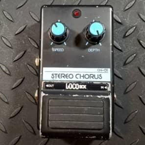 LOCObox Ch-01 Stereo Chorus 1980's Lm339n, mn3102, mn3209, tl4558p FREE SHIPPING