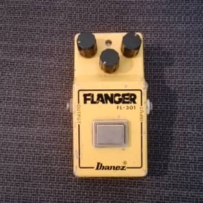 Ibanez  vintage Flanger  FL 301 narrow box R logo