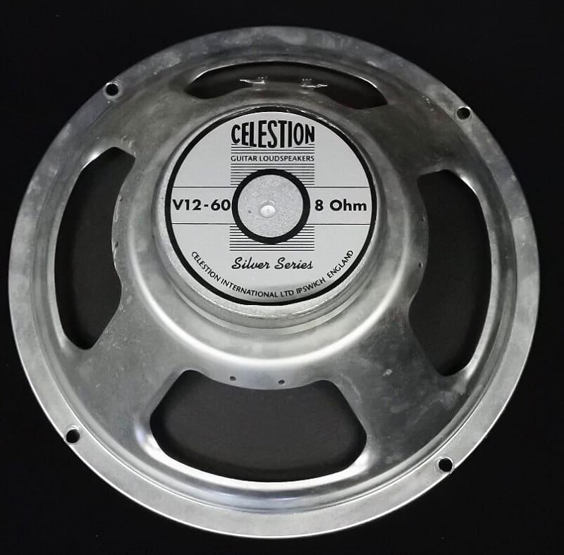 celestion v12 60 silver series 12 guitar speaker 8 ohm reverb. Black Bedroom Furniture Sets. Home Design Ideas