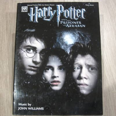 Harry Potter and the Prizoner of Azkaban Sheet Music Song Book Songbook Piano Solos