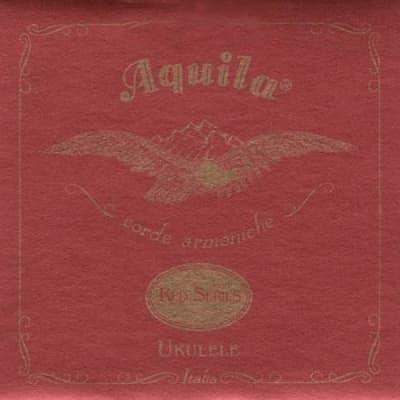 Aquila Red Series Ukulele Strings - 89U Baritone Low D Wound 3rd & 4th