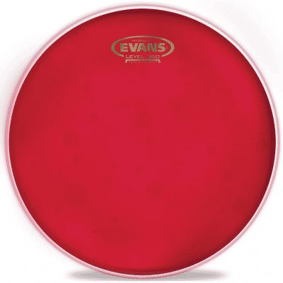 Evans TT16HR Hydraulic Red Drum Head - 16""