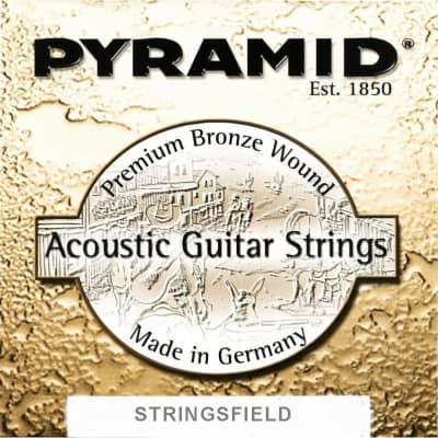 Pyramid Western Folk Premium Bronze Guitar Strings Medium 13-56