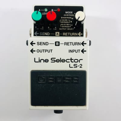 Boss LS-2 Line Selector  *Sustainably Shipped*