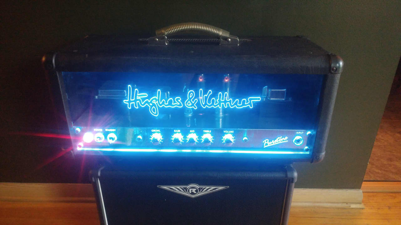 Hughes & Kettner Puretone Head hand wired made in Germany | Reverb