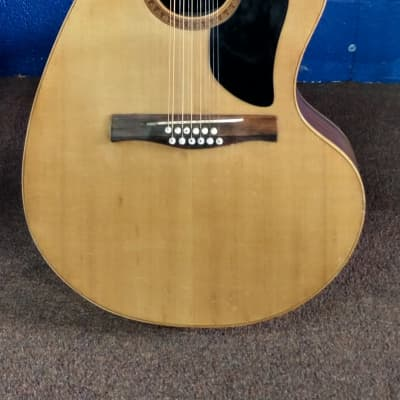 Giannini AWKS-12 1975 Natural 12-String Acoustic for sale