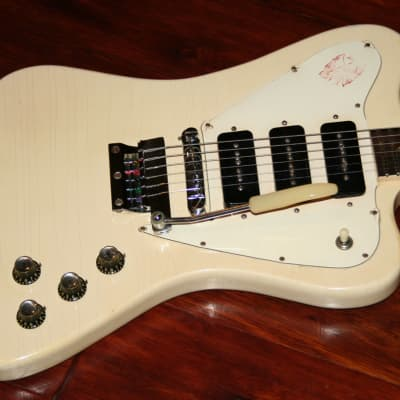 1966 Gibson  Firebird III Polaris White