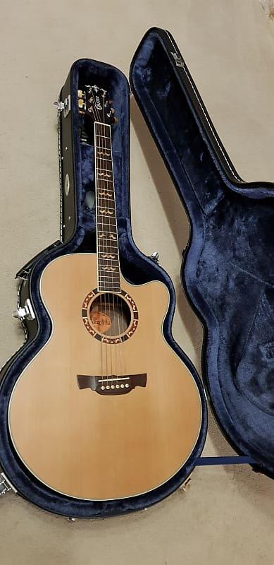5b351372269 Crafter JE18/N Electro Acoustic. 2009 Korea. Solid Cedar Top. | Reverb