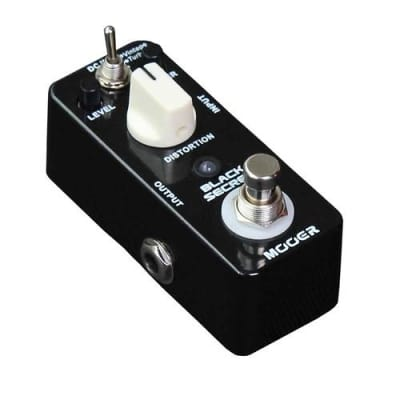 MOOER Black Secret Micro Distortion Pedal and RAT Style Open Box Free US Shipping image