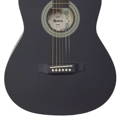 Madera LD301-BKS   Linden 1/2 Size Acoustic, Black Satin for sale