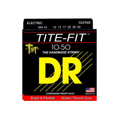 DR Strings Tite Fit 10-50
