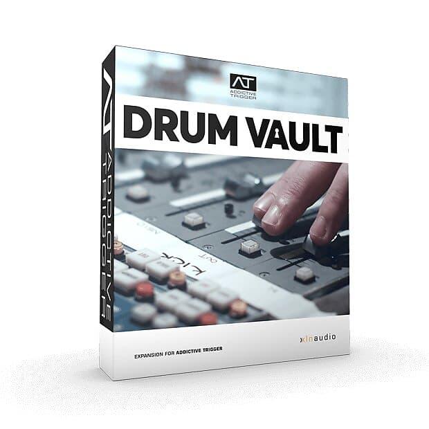 XLN Audio Addictive Trigger TrigPack Drum Vault