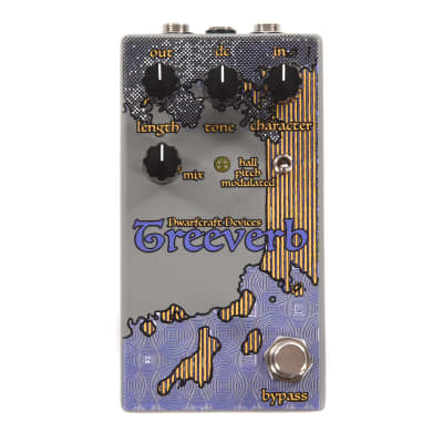 Dwarfcraft Devices Treeverb Reverb USED