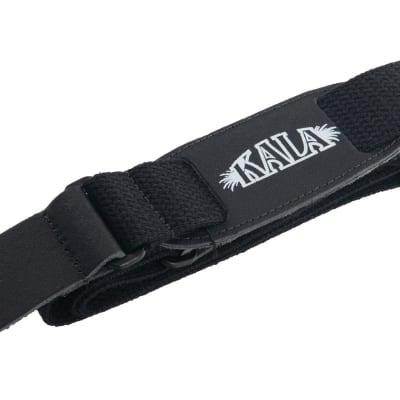 Kala Cloth Ukulele Strap Black for sale