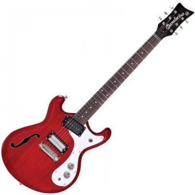 Danelectro DG66, Trans Red for sale