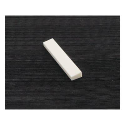 Hosco Trapezoid Bone Nut For Acoustic Guitars 53 x 10 x 4,5/6 mm F-3301