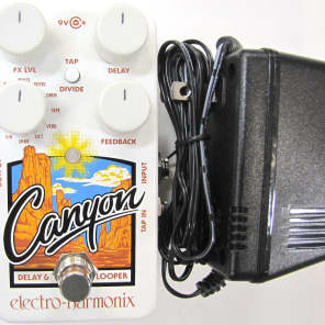 Used Electro-Harmonix EHX Canyon Delay and Looper Guitar Pedal!