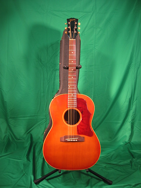 6ec44000bf8 Vintage 1966 Gibson LG1 Small Body Acoustic Guitar in | Reverb