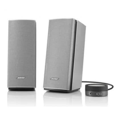 Bose Companion 20 laptop active speakers Silver