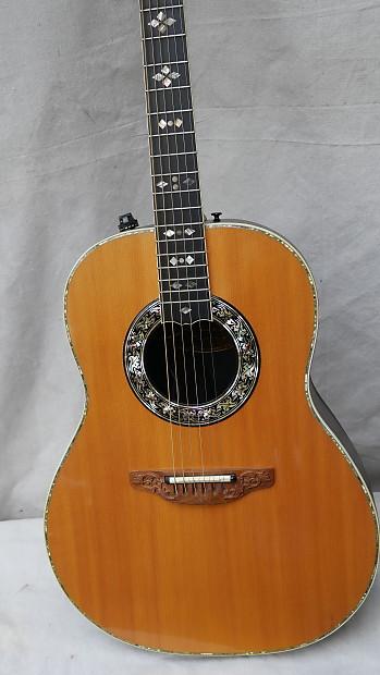 vintage late 70 39 s ovation guitar 1619 4 acoustic electric reverb. Black Bedroom Furniture Sets. Home Design Ideas
